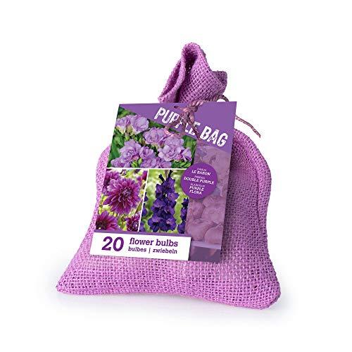 20x Blumenzwiebel Mix'The Purple Bag'  ...