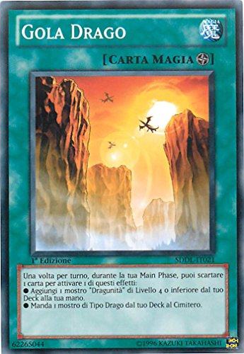 YU-GI-OH! - SDDL-IT021 - Gargola dragón - Baraja introductora Legión Dragunidad - Unlimited Edition - Comune