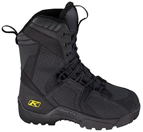 Klim Arctic GTX Men's Snocross Snowmobile Boots - Black/Size 6