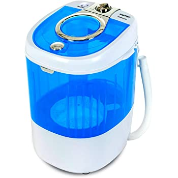 Dorms Turbine Washer Bule USB Cable Low Noise 2020 New Folding Fully automatic Laundry Machine Upgraded Portable Washing Machine Apartments,Business Trips Mini Washing Machine for Camping
