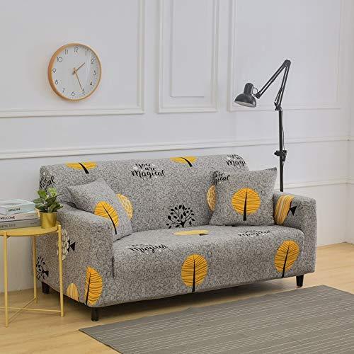 WXQY Sala de Estar Cubierta de sofá elástica con Todo Incluido Cubierta de sofá de celosía elástica Cubierta de sofá de sofá Inferior Cubierta de sofá A1 4 plazas