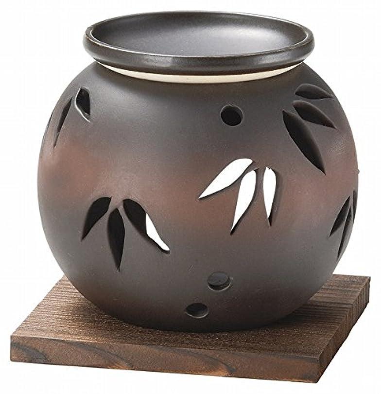 タヒチ詳細な輸送日本セラミックTokoname ware。CHAKORO。Tealeaf Incense Holder。