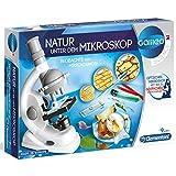 #1118 600X Kinder Mikroskop • Galileo Natur unter dem Mikroskop mit 600 facher Vergrößerung Experimentier-Kasten Set