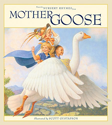 Favorite Nursery Rhymes from Mother Goose (English Edition)