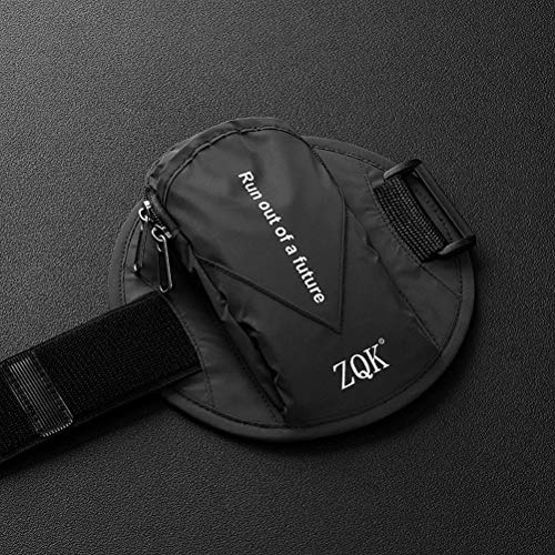 Atrumly Bolsa reflectante para brazaletes de fitness, bolsa deportiva, soporte para correr, entrenamiento, bolsa de brazo, impermeable, soporte para teléfono móvil, deporte al aire libre