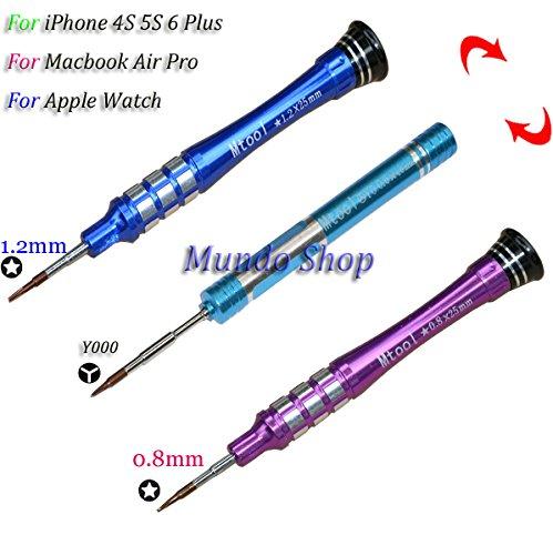 Een set 3 stks P2 P5 Pentalobe schroevendraaier Voor iPhone 4S 5S 6 Plus Apple Watch MacBook Air 2010-2012 & Pro Retina Tools,
