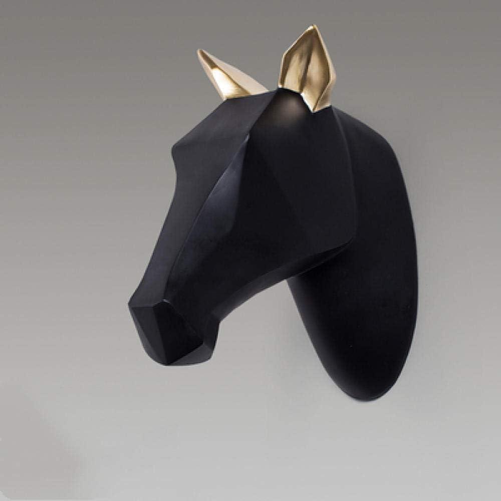 XUXUWA Decorations Art Craft Horse Creative Wall Direct store Head Industry No. 1 Hanging Li