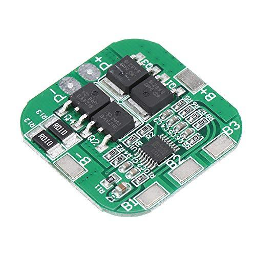 Módulo electrónico 4S 14.8V 16.8V 20A Peak Li-Ion BMS BMS PCM PLANTE DE LA BATERÍA BMS BMS PCM para Lithium LicoO2 LIMN2O4 18650 LI Batería 10pcs Equipo electrónico de alta precisión