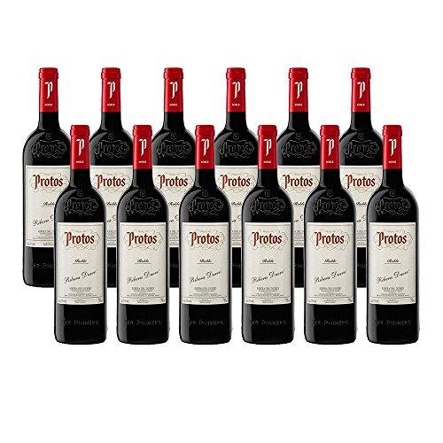 Protos Roble 2016-Vino Tinto Ribera del Duero-12 botellas-0,75L