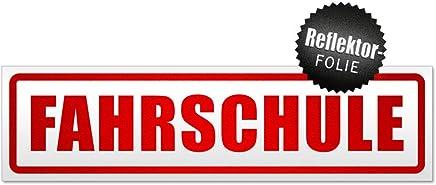 Moped-Ausbildung 1 Fahrschule Magnetschild