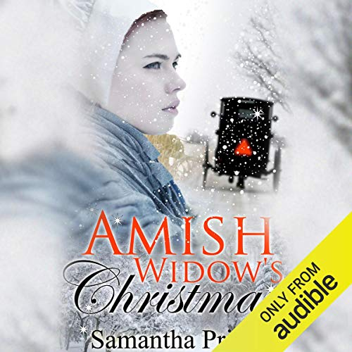 Amish Widow's Christmas audiobook cover art