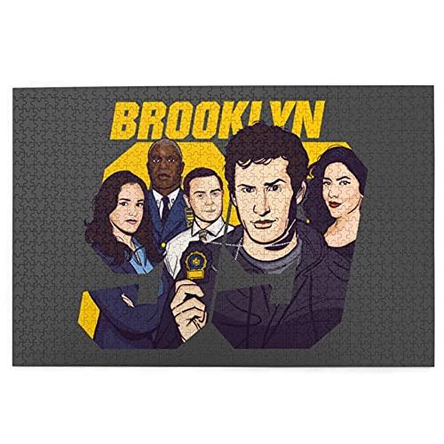 Fans insignia Gina Linetti brook-lyn nueve 99 temporada 1-7 divertido popular Charles Boyle Jigsaws rompecabezas familia rompecabezas desafío juego para adultos Adolescentes accesorios Pascua