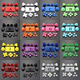 Buttons Full Set for PS4 Pro Joysticks Dpad R1 L1 R2 L2 Direction Key ABXY Buttons JDS 040 JDS-040 for Sony Playstion 4 Pro Controller (Light Blue)