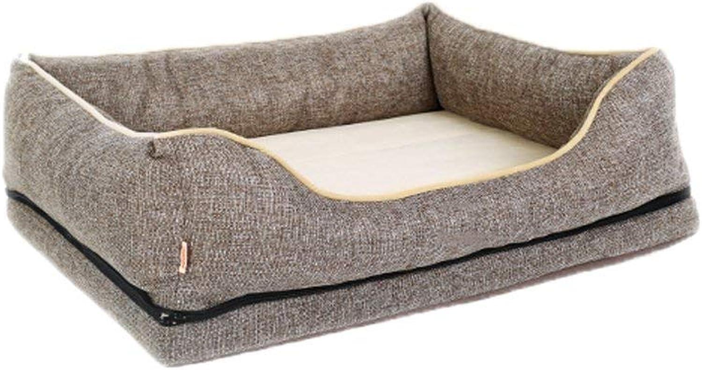 Gwanna Pet fornisce Kensel, Doghouse Sofa Small Mediumsize Dog Cat Bed DeliveRoom Pet Supplies 3 mprove sonno e auto (Colore: B, Dimensione:* 60 * 23cm) Soft Pad per animali da letto