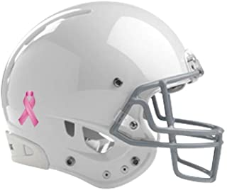 Pink Ribbon Stickers Official Breast Cancer Helmet Decals 100 Pack