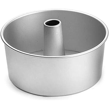 Geneic - Molde de aleación de aluminio para tartas (4 pulgadas, 15 cm)