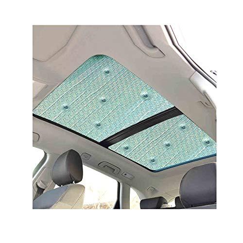 DGLIYJ Parabrisas De Coches Visor De Vehículo Ventana Lateral Sombrilla De Coche  Techo Solar Cubierta Protectora  Con Ventosa (Size : 2 panoramic sunroofs)
