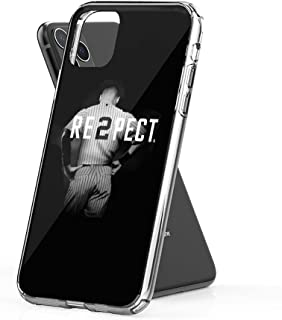 Crystal Clear Phone Cases Respect Derek Jeter Re2pect Case Cover Compatible for iPhone (11)
