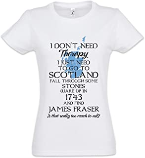 Urban Backwoods I Don't Need Therapy Camiseta de Mujer Women T-Shirt
