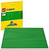LEGO 10700 Classic Base Verde Juguete de Construcción, Juego de Construcción para Niños y Niñas 4 años