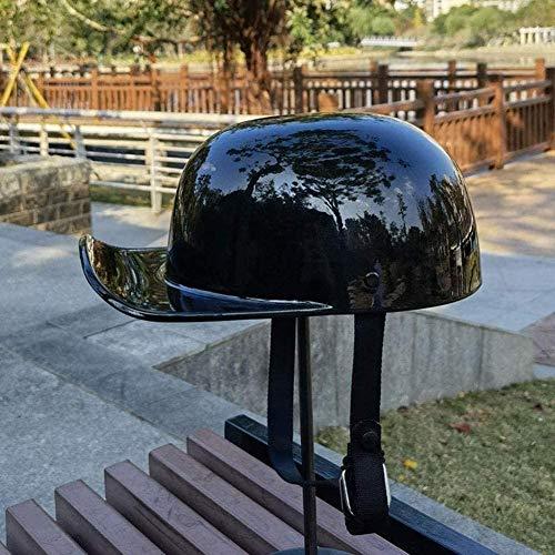 FREENN Retro Medio Cascos,Casco Moto De Cara Abierta Retro Motocicleta Jet Casco,ECE Homologado Four Seasons Universal Casco Moto