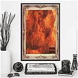 wzgsffs Kid Cudi Man On The Moon Hot New Album Music Cover Hip Hop Rap Rapper Star Póster E Impresiones Arte De La Pared Decorativo-20X28 Pulgadas X 1 Sin Marco