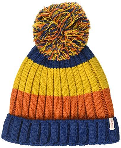 ESPRIT KIDS Jungen RP9008409 Knit HAT Mütze, Blau (Indigo 460), 92/98 (Herstellergröße: S)