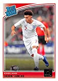 2018-19 Donruss Soccer #189 Jadon Sancho England Rated Rookie Official Panini 2018-2019 Futbol RC Card. rookie card picture