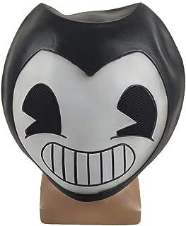 heling896 Sanmubo - Máscara de Halloween para Bares y Fiestas de Disfraces, de látex, para Adultos y niños