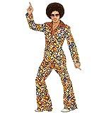 shoperama 70er Jahre Retro Herren Anzug Bubbles Disco Herren-Kostüm Jackett Hose Siebziger Schlager...