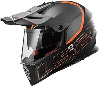LS2 436-4004 Full Face Helmet (Grey, L)