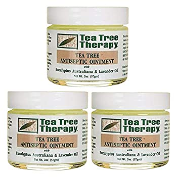 Tea Tree Therapy Tea Tree Antiseptic Ointment 2 Ounce  Pack of 3