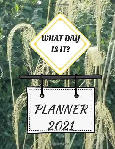 What Day Is It Planner