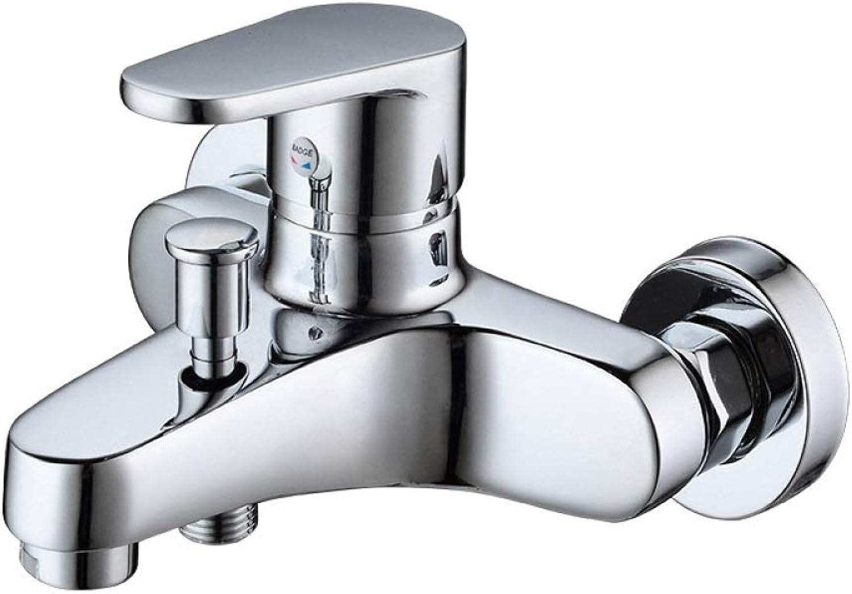 PZXY Faucet Brass Triple Second Gear Out Faucet Ceramic Valve core Bathtub Faucet