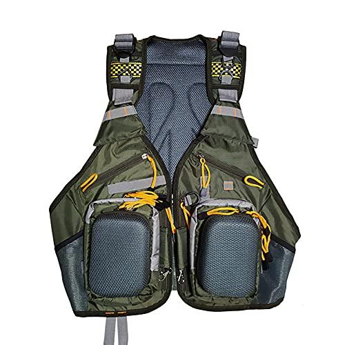 XER Chalecos De Baño De Pesca Profesional Seguridad Inflable Portátil De Las Chaquetas De Natación Ayuda De Flotabilidad Ideal para Snorkel, Kayak, Navegación.