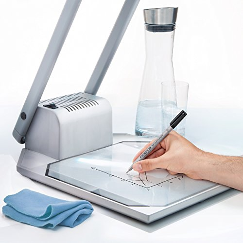 Staedtler Lumograph Non-Permanent Wet Erase Marker Pens, Fine Tip Refillable Colored Marker, Black, 315-9 Photo #7