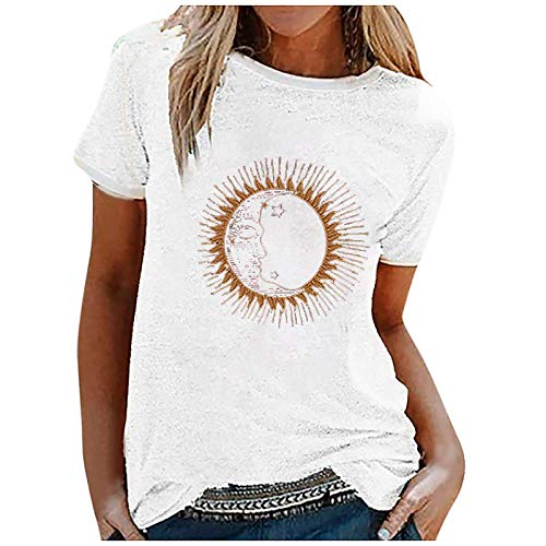 Pistaz - Camiseta de manga corta para mujer, diseño de Tie-Dye