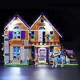 BRIKSMAX Kit de Iluminación Led para Lego Friends Casa de MIA,Compatible con Ladrillos de Construcción Lego Modelo...