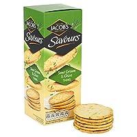 ヤコブのサワークリーム&チャイブSavors 150グラム - Jacob's Sour Cream & Chive Savours 150g [並行輸入品]