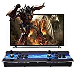 SeeKool 3D Pandora X Arcade Game Console, Joystick 2 Giocatori Arcade Console con 2500 Giochi Retro, 1920x1080 Full HD, Supporto esteso Scheda TF e Disco USB, per PC / Laptop / TV / PS3(3D Pandora X)