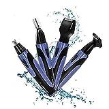 Adorishe afeitadora 4 en 1 portátil eléctrica para nariz, Recargable, recortadora de pelo para barba, cejas y orejas, con sistema de limpieza en seco y húmedo