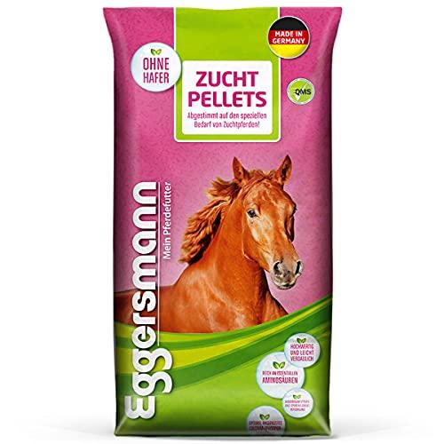 Eggersmann Granulés d'élevage – Complément Alimentaire sans Avoine pour Chevaux – pour des résultats d'élevage optimaux – Sac de 25 kg