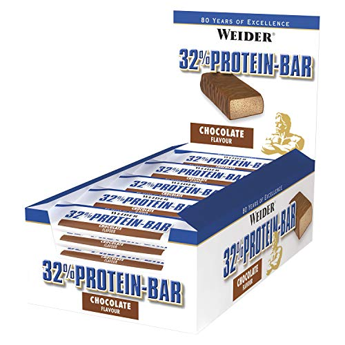 Weider 32% Protein Bar, Chocolate - 24 Barras