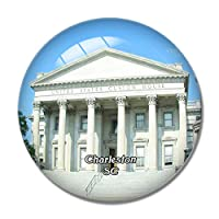 チャールストンカスタムハウスサウスカロライナ米国冷蔵庫マグネットホワイトボードマグネットオフィスキッチンデコレーション