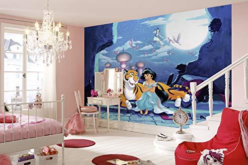 Disney fotobehang van Komar | WAITING FOR ALADDIN | afmetingen: 368 x 254 cm (breedte x hoogte) | behang, 1001, kinderen, muur, kinderkamer, decoratie - 8-4115