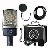 AKG C214 Large Diaphragm Condenser Microphone...