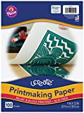Pacon Printmaking Paper, White, 9'x12', 100 Sheets