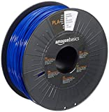 AmazonBasics PLA 3D Printer Filament, 1.75mm, Dark Blue, 1 kg Spool