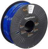 Amazon Basics - Filamento para impresora 3D, ácido poliláctico (PLA), 1.75 mm, cinta de 1 kg, azul oscuro