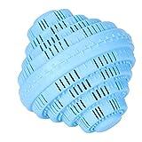 Huakii - Bola de detergente ecológica, bola de lavado, no contiene detergente, descontaminación para la casa familiar